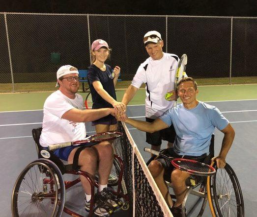 Adaptive and Wheelchair Tennis League Begins